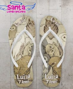 Chinelo Infantil Harry Potter, Edwiges Personalizado - COD 2548