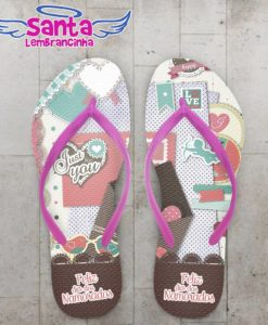 Chinelo Dia dos Namorados Just For You - COD 2362