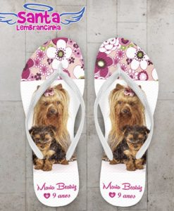 Chinelo cachorro yorkshire – cod 1030