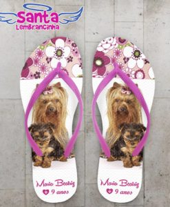 Chinelo Cachorro Yorkshire - COD 1030