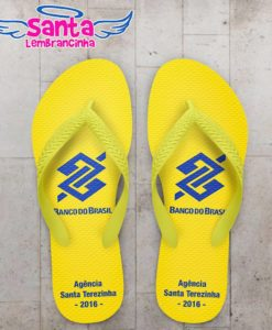 Chinelo corporativo banco do brasil personalizado – cod 2710