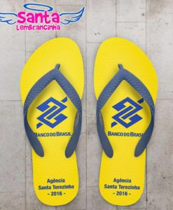 Chinelo Corporativo Banco do Brasil Personalizado - COD 2710