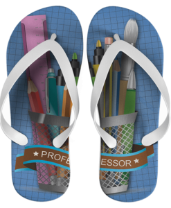 Chinelo dia do professor personalizado – cod 1010