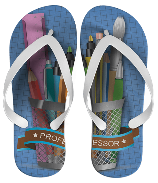 Chinelo Dia do Professor Personalizado - COD 1010