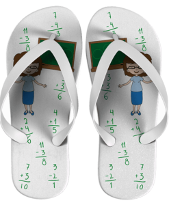 Chinelo Dia do Professor Personalizado - COD 1012