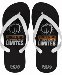 Chinelo corporativo power mind personalizado – cod 1975