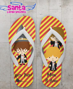 Chinelo infantil harry potter cute cod 3708