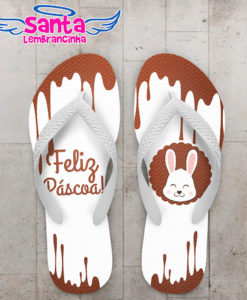 Chinelo páscoa chocolate cod 3725