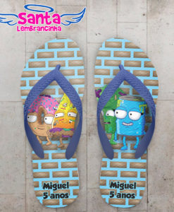 Chinelo infantil the grossery gang personalizado cod 5500