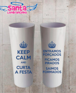 Copo long drink formatura keep calm personalizado – cod 7254