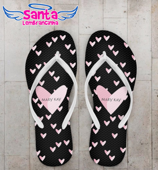 Chinelo corporativo mary kay personalizado cod 8032